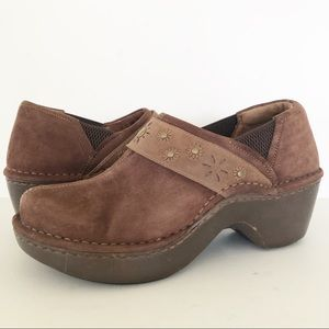 Ariat Westlake Suede Leather Casual Clogs 6